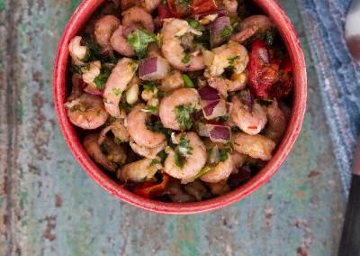 Poisson - Ceviche de crevettes grises au curry Colombo -2801